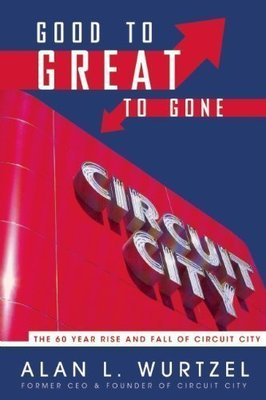 Good to Great to Gone: The 60 Year Rise and Fall of Circuit City [Hardcover]